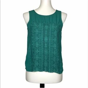 American eagle outfitters | embroidered tank